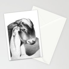 Anglo Nubian Buck Kid Stationery Cards
