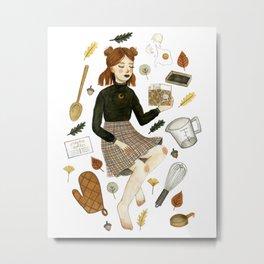 recipe witch Metal Print