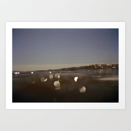 OceanSeries1 Art Print