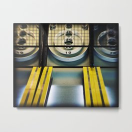 Skeeball Metal Print