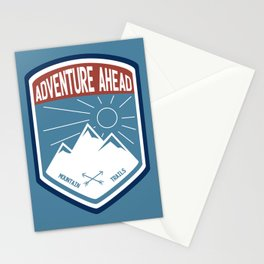 Adventure Ahead - Color Stationery Cards