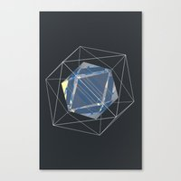 night sky Canvas Prints featuring Night Sky by アーティスト