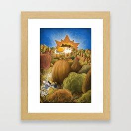 Cocinero a huevo Framed Art Print
