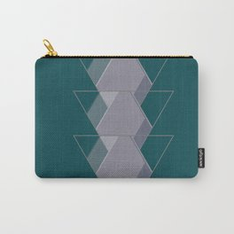 Three Triangles Carry-All Pouch