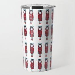 Red Coat Girl Travel Mug