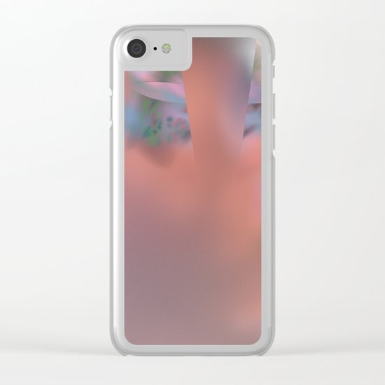 inside of the cell  (A7 B0196) Clear iPhone Case