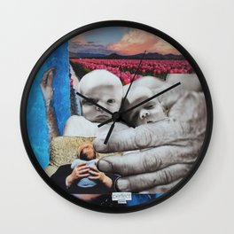 Perfect Love Wall Clock