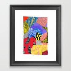Colors & Shapes Framed Art Print