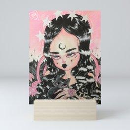 LADY NERA Mini Art Print