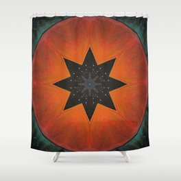 Sol Fire Shower Curtain