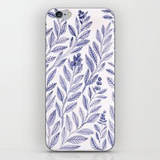 Wild Blue iPhone & iPod Skin