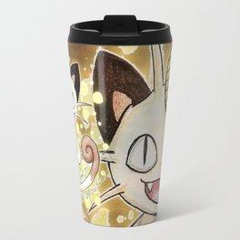 52 - Meowth Travel Mug