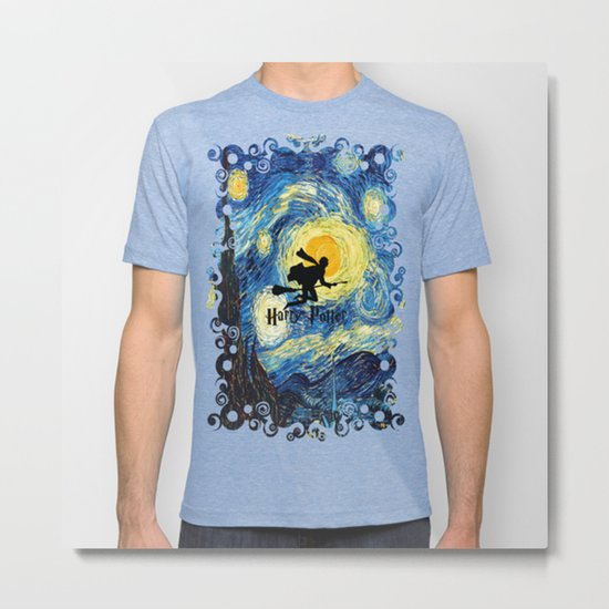 Young wizzard abstract art painting iPhone 4 4s 5 5c, ipod, ipad, pillow case, tshirt and mugs Metal Print