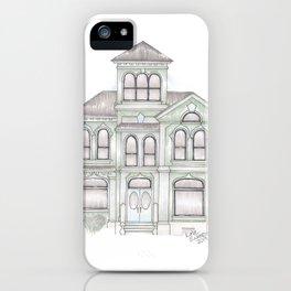 Green Italianate Victorian iPhone Case