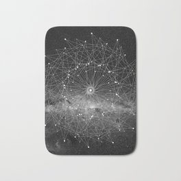STARGAZING IS LIKE TIME TRAVEL Bath Mat