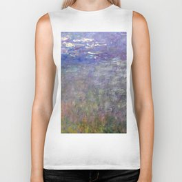 1926-Claude Monet-Water Lilies-199 x 425 Biker Tank