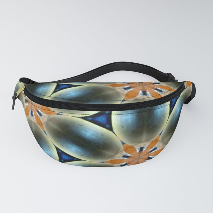 Funky Contrast Fanny Pack