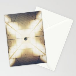 X is up Stationery Cards