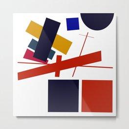 Geometric Abstract Malevic #12 Metal Print