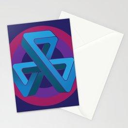 Tri-Tip Mobius Strip Stationery Cards
