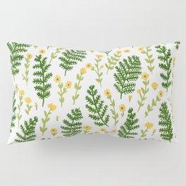 Ferns & Flowers Pillow Sham