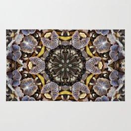 Mushroom Mandala Rug