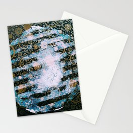 Full Harvest Moon Stationery Cards