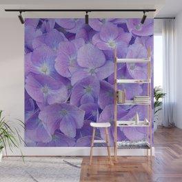 Hydrangea lilac Wall Mural