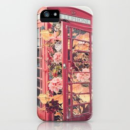 Flower Booth iPhone Case