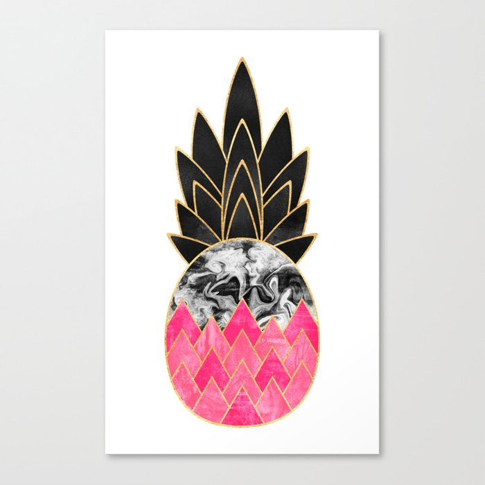 Precious Pineapple 2 Canvas Print