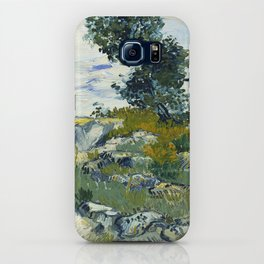 The Rocks by Vincent van Gogh iPhone Case