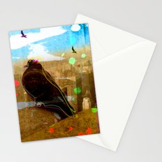 New York Pigeons Stationery Cards