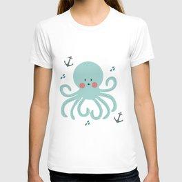 Squid Pattern T-shirt