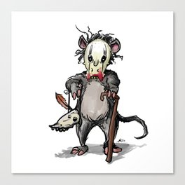 The Rat Doctor Canvas Print
