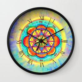 Harmony Mandala Wall Clock