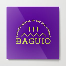 Philippine Series - Baguio Metal Print
