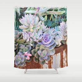 Desert Flowers Shower Curtain