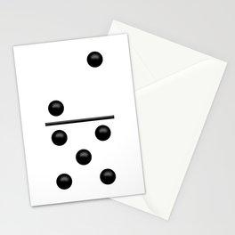 White Domino / Domino Blanco Stationery Cards