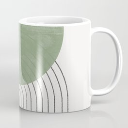 Green Sun Positive Vibe  Coffee Mug