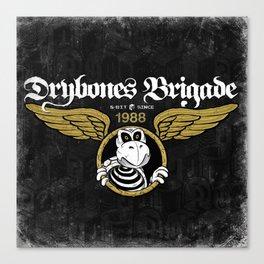 DryBones Brigade Canvas Print