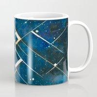 constellation Mugs featuring :: Constellation ::  by Antonio Holguin