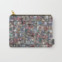 Gathered in April, Paper Collage Carry-All Pouch