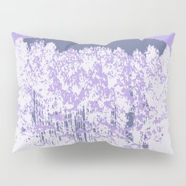Lavender Mod Trees Pillow Sham
