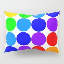 Roy G. Biv color chart Pillow Sham