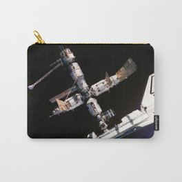 Space Shuttle Space Station Mir Dock Carry-All Pouch