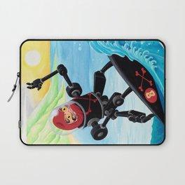 Dieruma Robot Surfer Laptop Sleeve