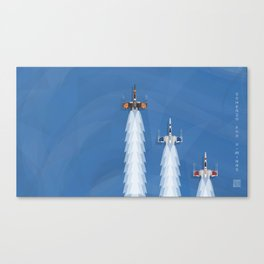 Scherzo For X-Wings Canvas Print