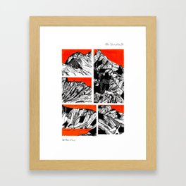After Wainwright - Blencathra 26 Framed Art Print