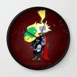Tyrannothorus Rex - Tyrant King of Thunder Wall Clock