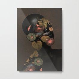 Floral Portrait 3 Metal Print
